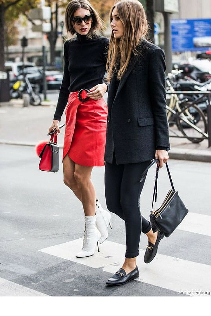 sneakers and pearls, street style, minimal look, bag charms, trending now.jpg