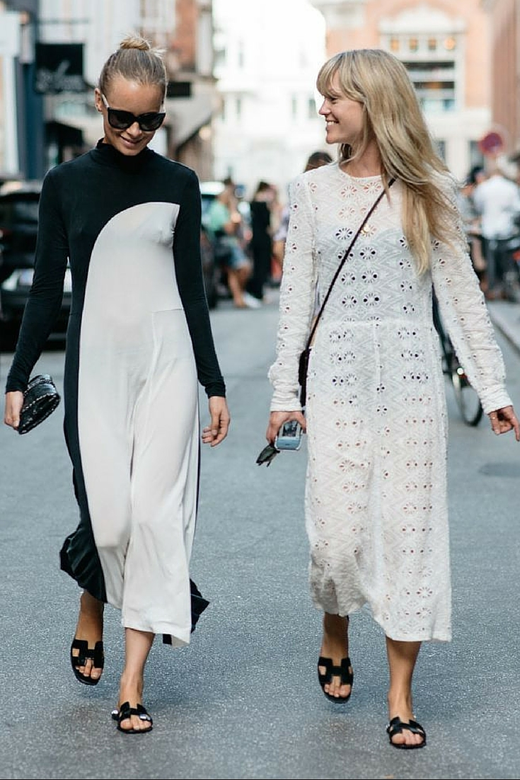 sneakers and pearls, street style, balck and white ensembles to take you from day to night, trending now.jpg