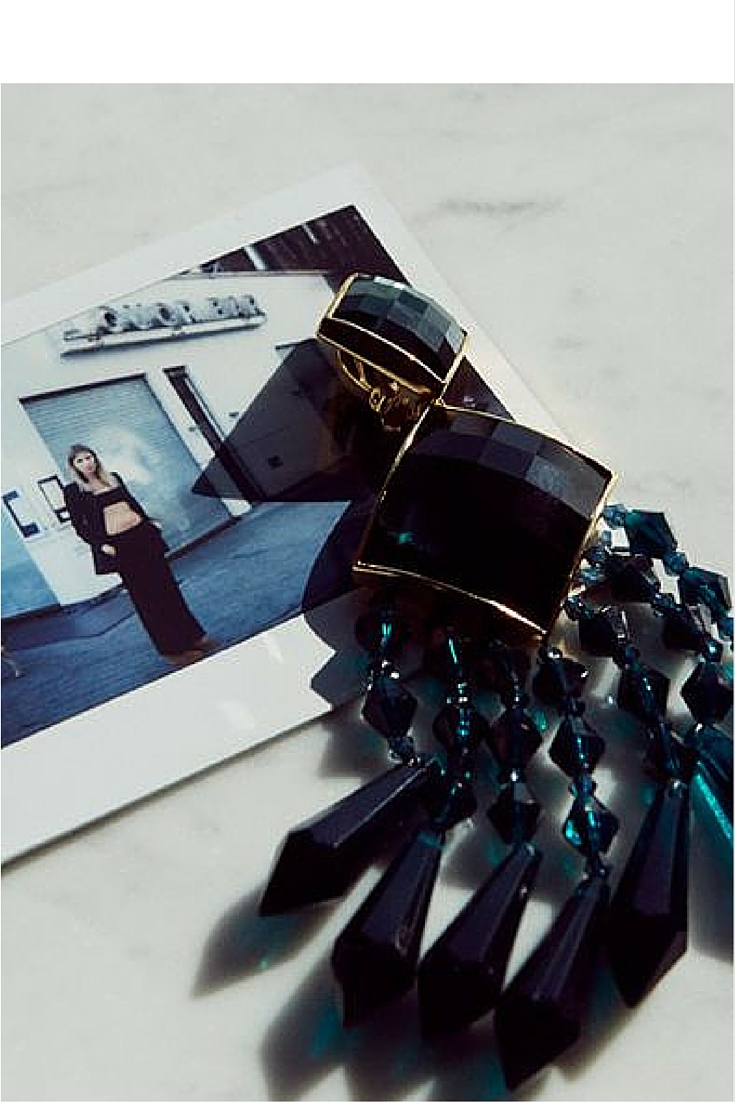 sneakers and pearls,polaroid, fancy long earrings, trending now.jpg