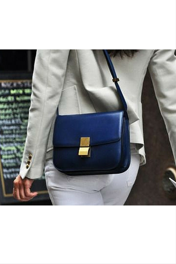 sneakers and pearls, street style, mix white colours with off white, blue satchel bag, trending now.jpg