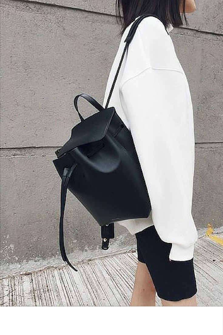 sneakers and pearls, tstreet style, black and white, black backpack, trending now.j.jpg