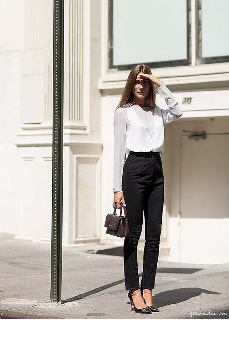 sneakers and pearls, street style, office wear, trending now.jpg