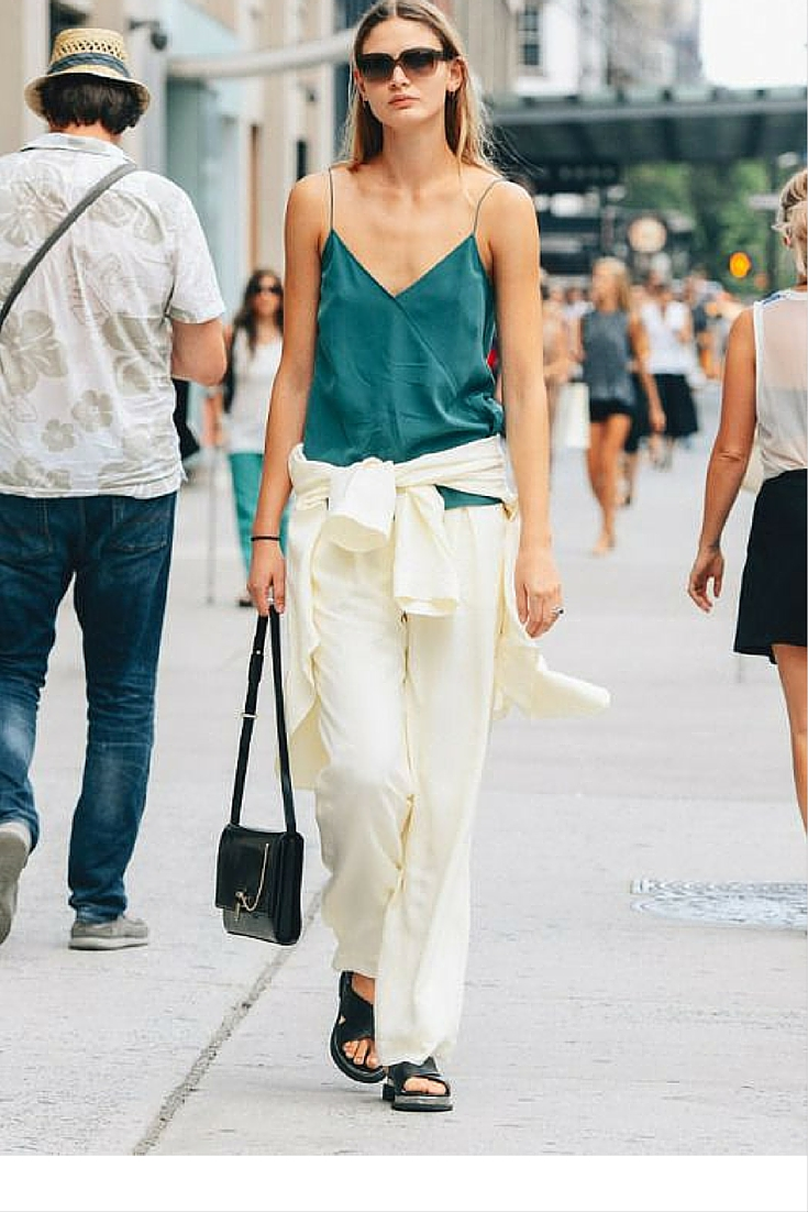sneakers and pearls, street style, office wear, minimal and chic look, trending now.jpg
