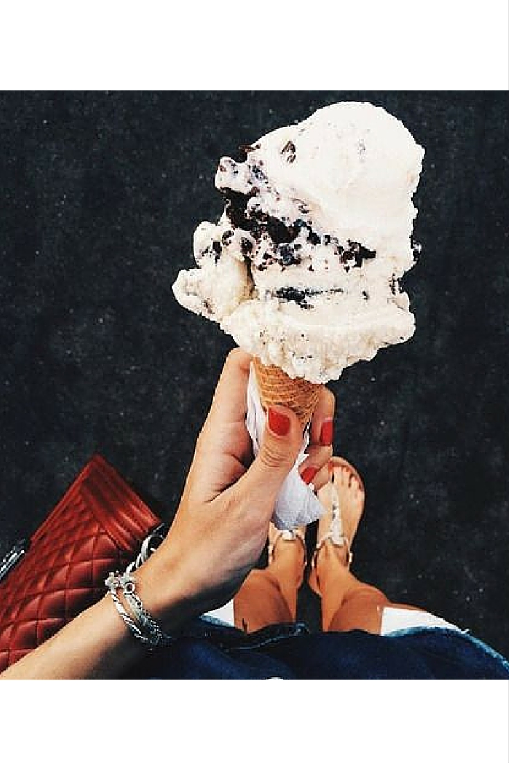 sneakers and pearls, street style, ice cream is always a good idea, trending now.jpg