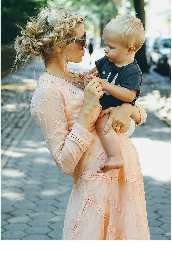 sneakers and pearls,street style, cute babies and mothers, trending now.jpg