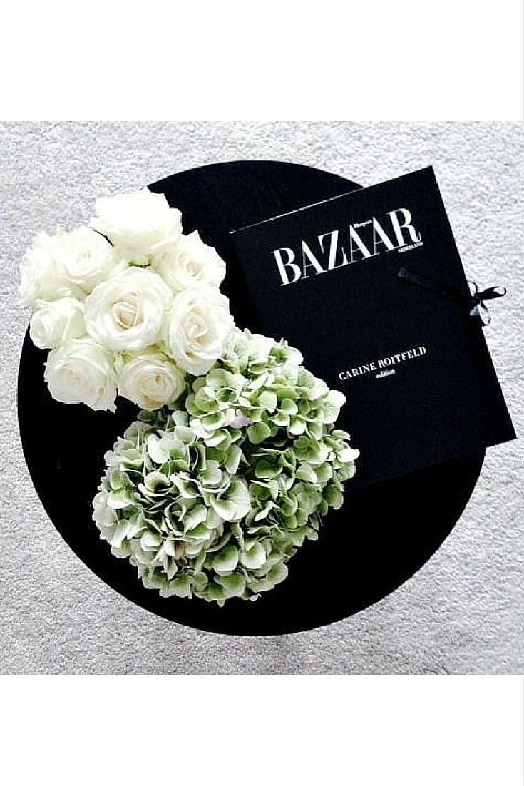 sneakers and pearls, flowers are everywhere, carine roitfeld, always trending.jpg