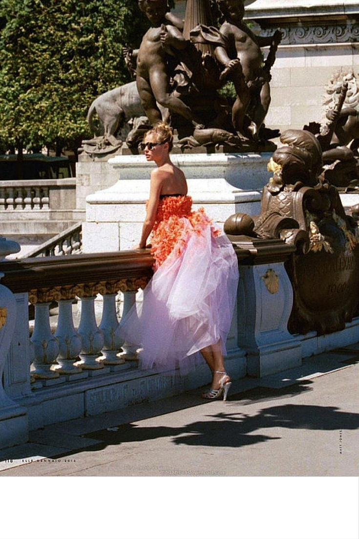 sneakers and pearls, photoshoot, orange and pink gown, haute couture, always trending now.jpg