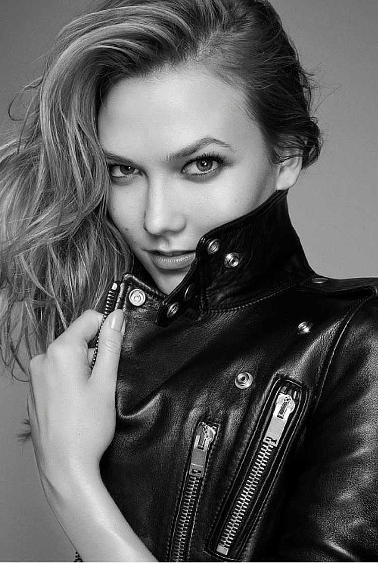 sneakers and pearls, karlie Kloss, top models, black leather jacket, trending now.jpg