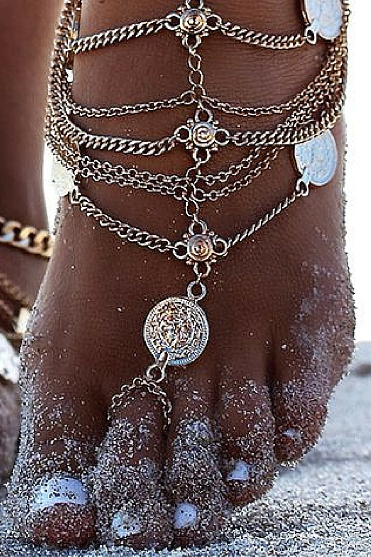 sneakers and pearls, beach style summer lovers, chain anklets, trending now.jpg