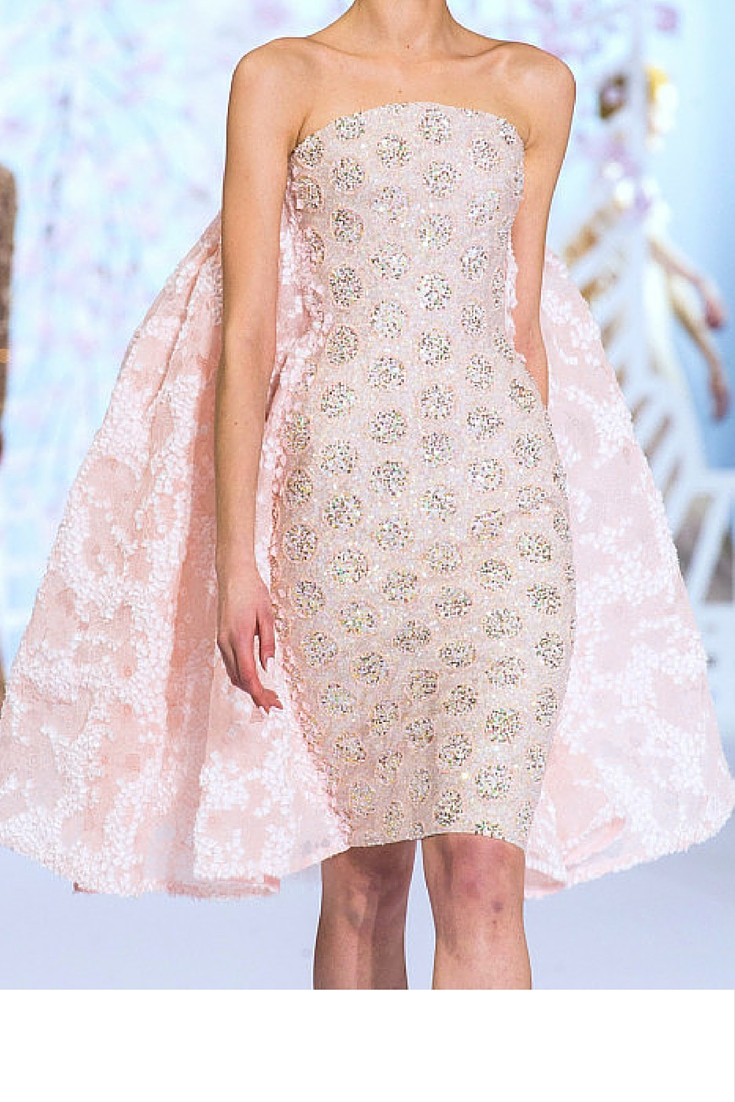 sneakers and pearls, haute couture show, wear pastel colours for a feminine and eatherial look, trending now .jpg