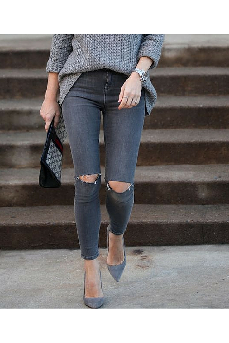 sneakers and pearls, street style, grey ensemble, winter, always trending.jpg
