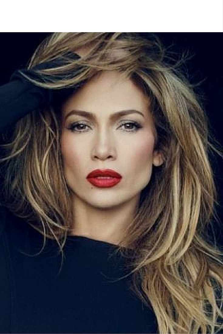 sneakers and pearls, natural make up, jennifer lopez, red lipstick,always trending.jpg