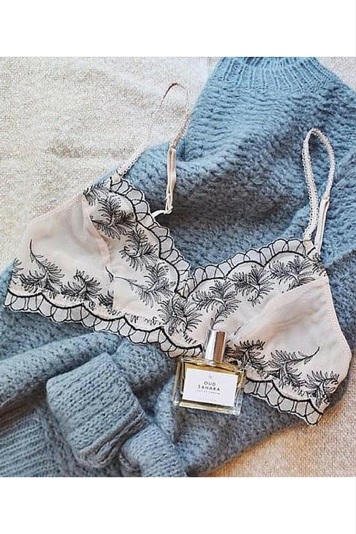 sneakers and pearls, sexy bra, blue knitwear, intriging perfumes, trending now.jpg