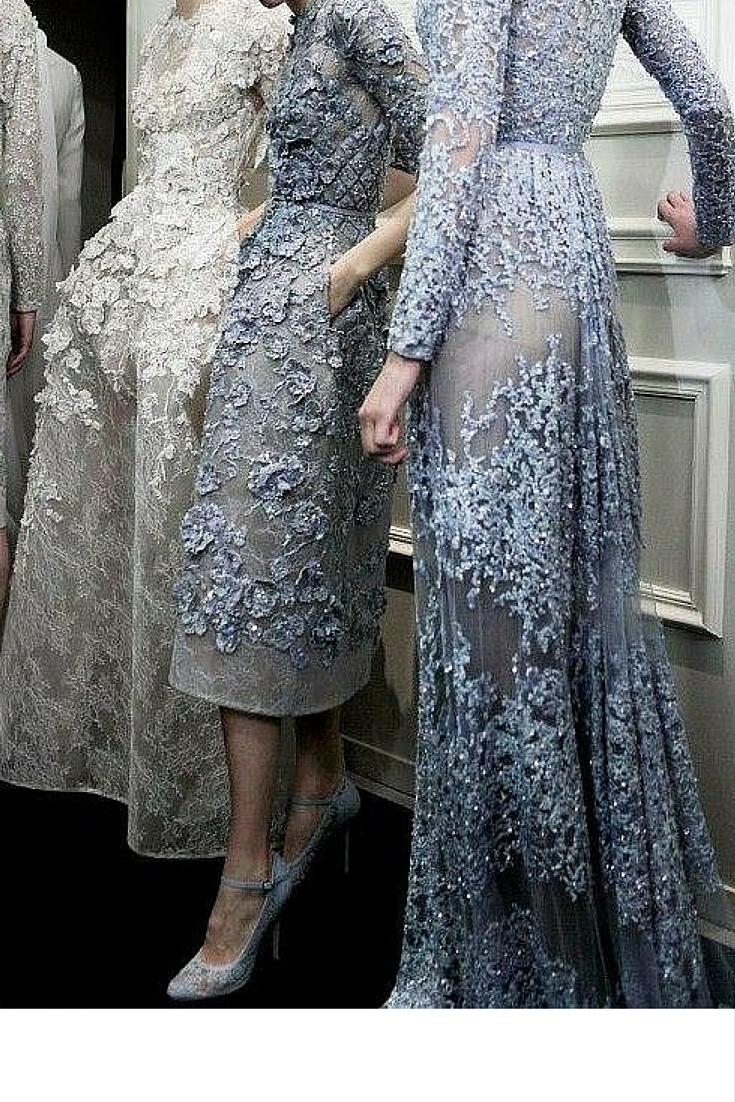 sneakers and pearls, models backstage, lace dresses with heavy embroidery taht make you look like a princess, ethereal dresses to wear once in your life, trending now.jpg