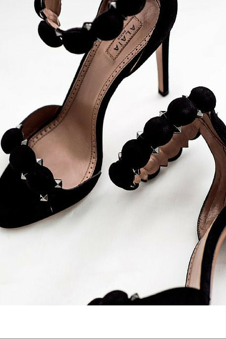 sneakers and pearls, black Alaia heels, sexy is back, trending now.jpg