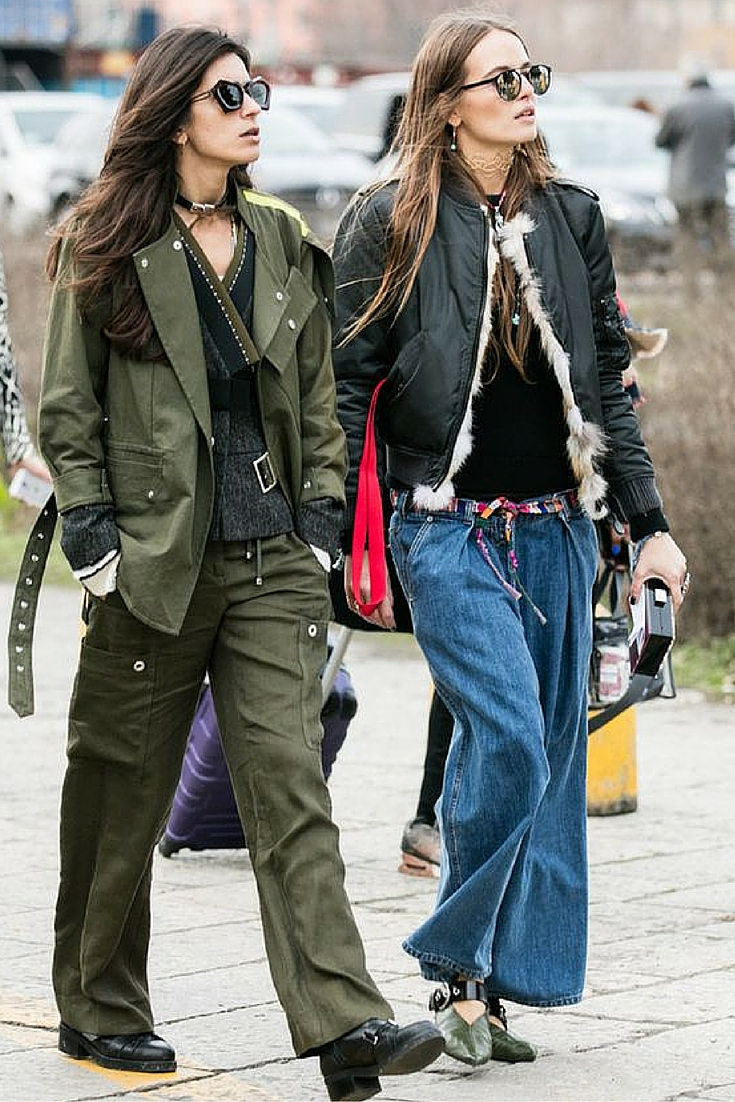 sneakers and pearls, street style, what to wear on a cool weekday, khaki ensemble, girl power, trending now.jpg