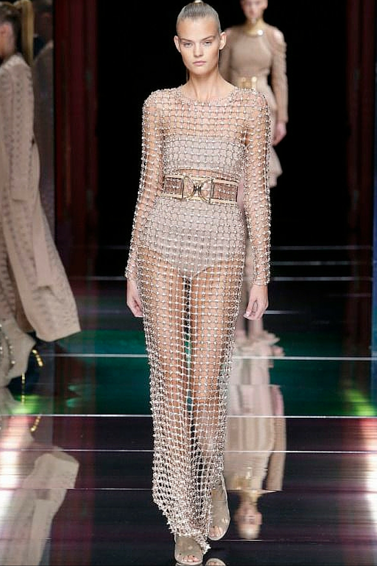 sneakers and pearls, runway look, balmain, slick and sexy, trending now.jpg