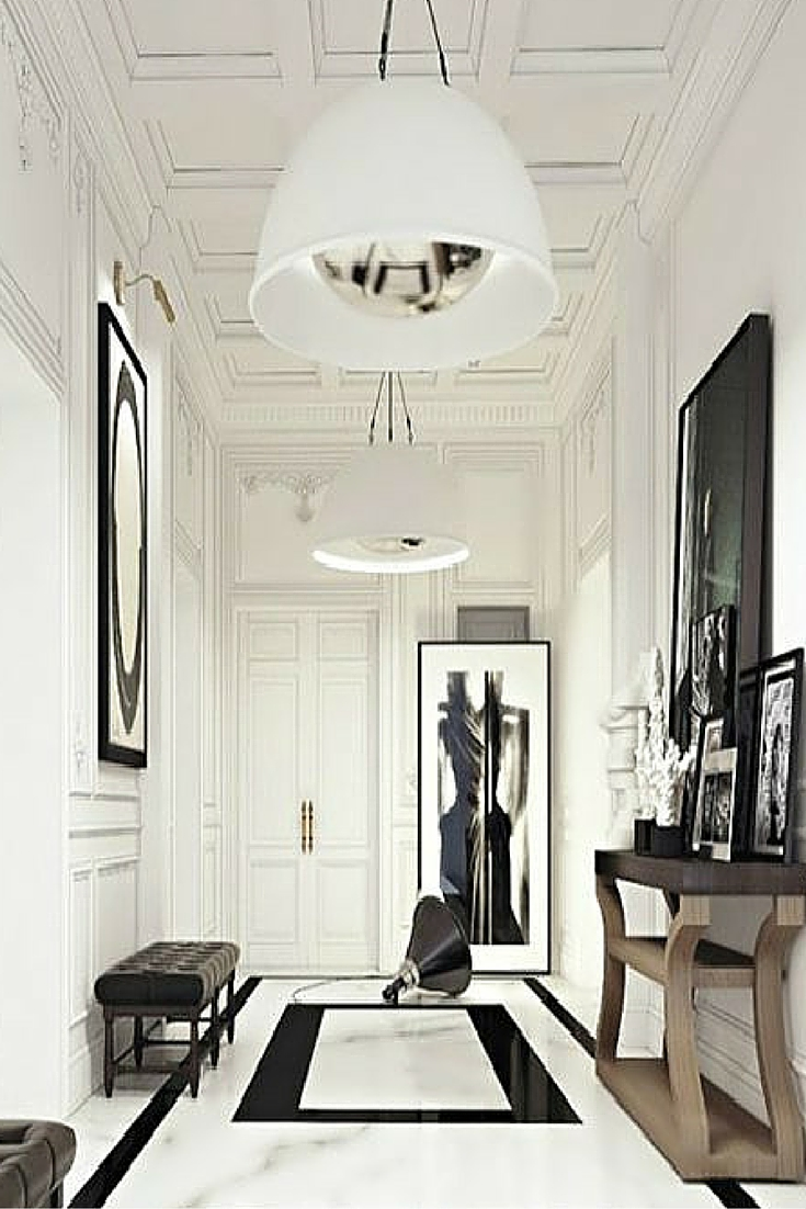 sneakers and pearls, white and black minimalistic space to live in, trending now..jpg
