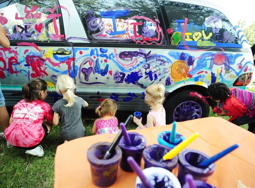 Painting the Van | Cultural Arts of Waco
