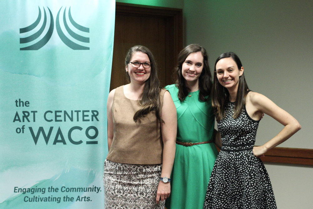 Special thanks to the brilliant staff of the Art Center of Waco for organizing the Waco 52 VIP Reception.