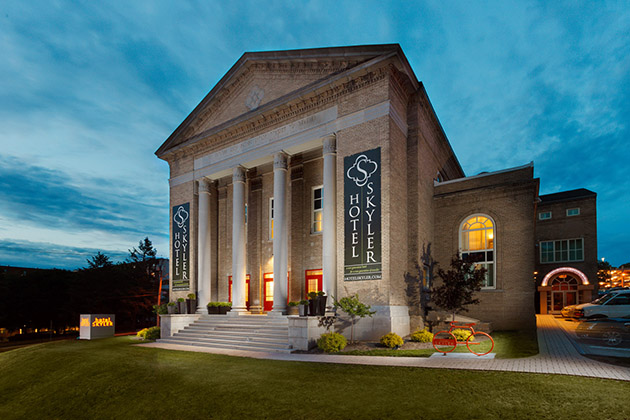 Skyler Hotel (Syracuse, NY), Former Synagogue