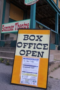 Call the Village Playhouse box office at 613.332.5918 to reserve your seats!