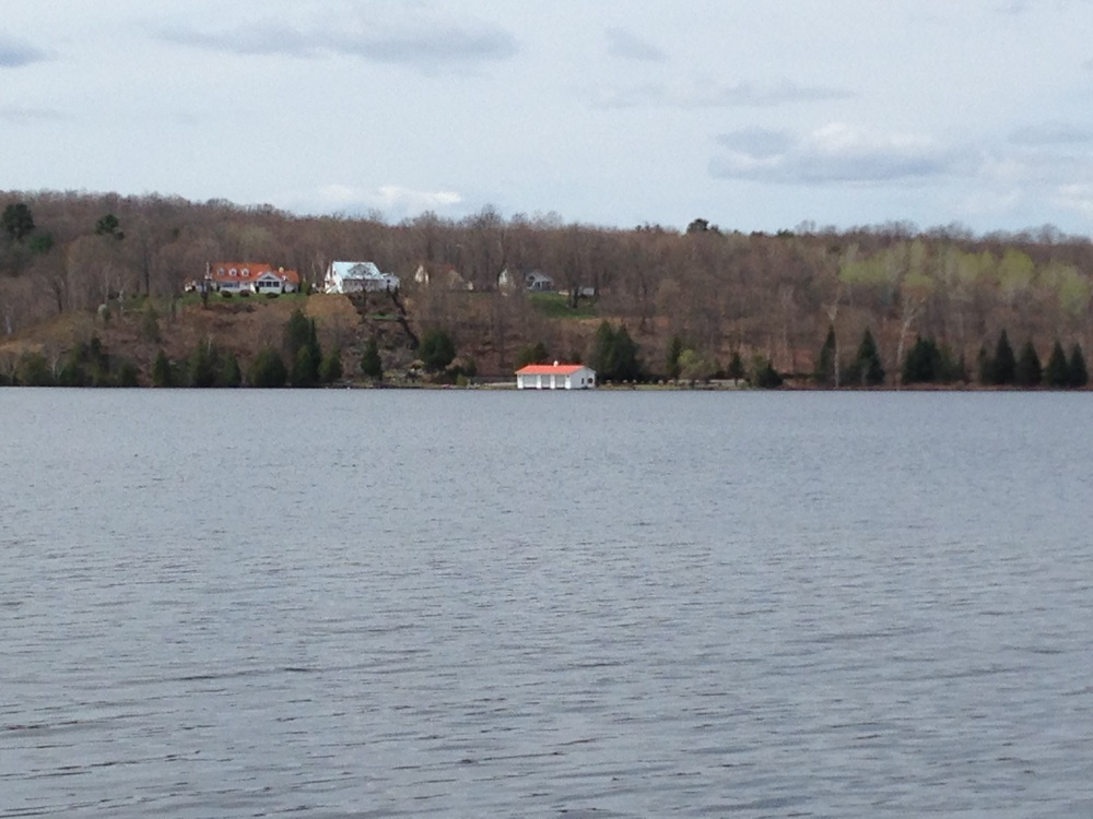 My childhood home on Inlet Bay.