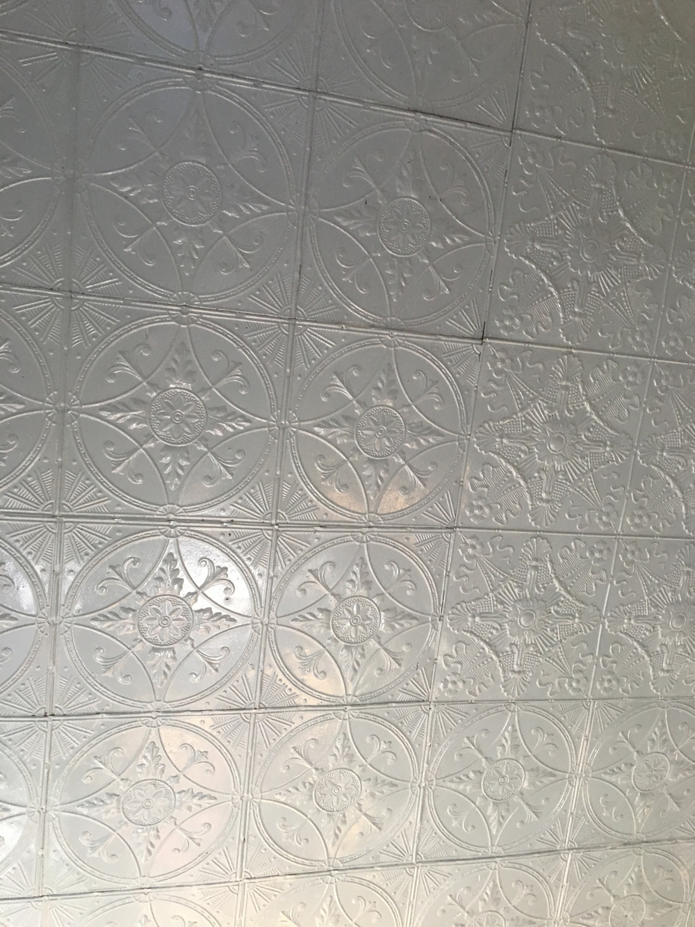 Original Tin Ceilings