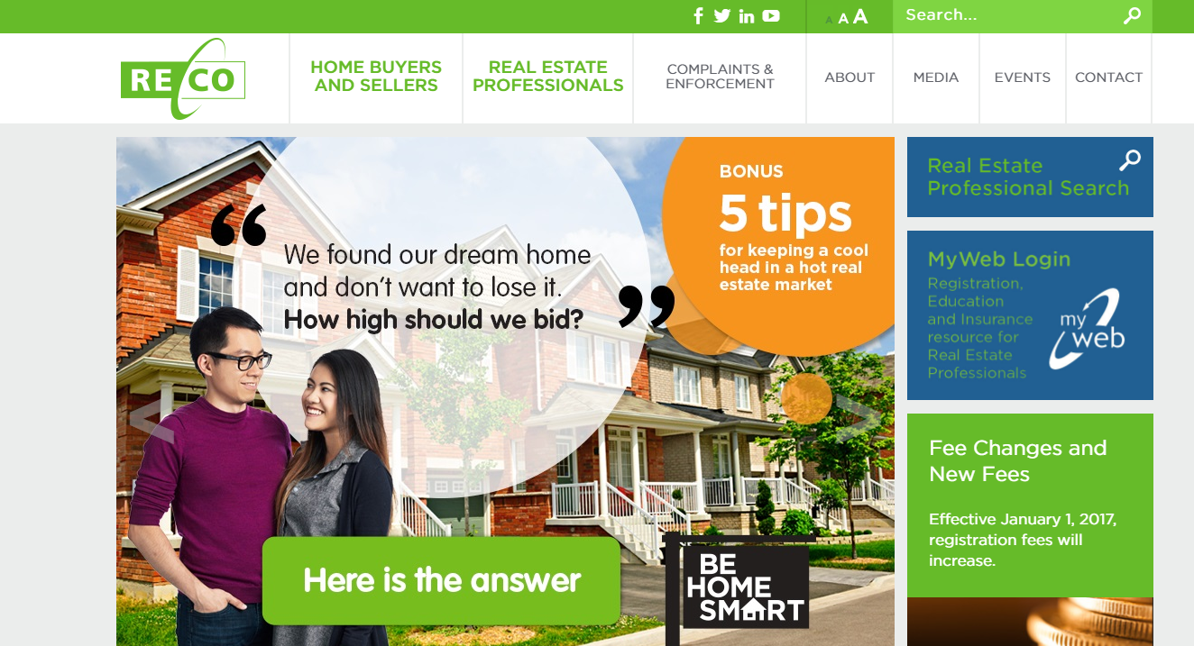 Buying your first home together reco website - Reco