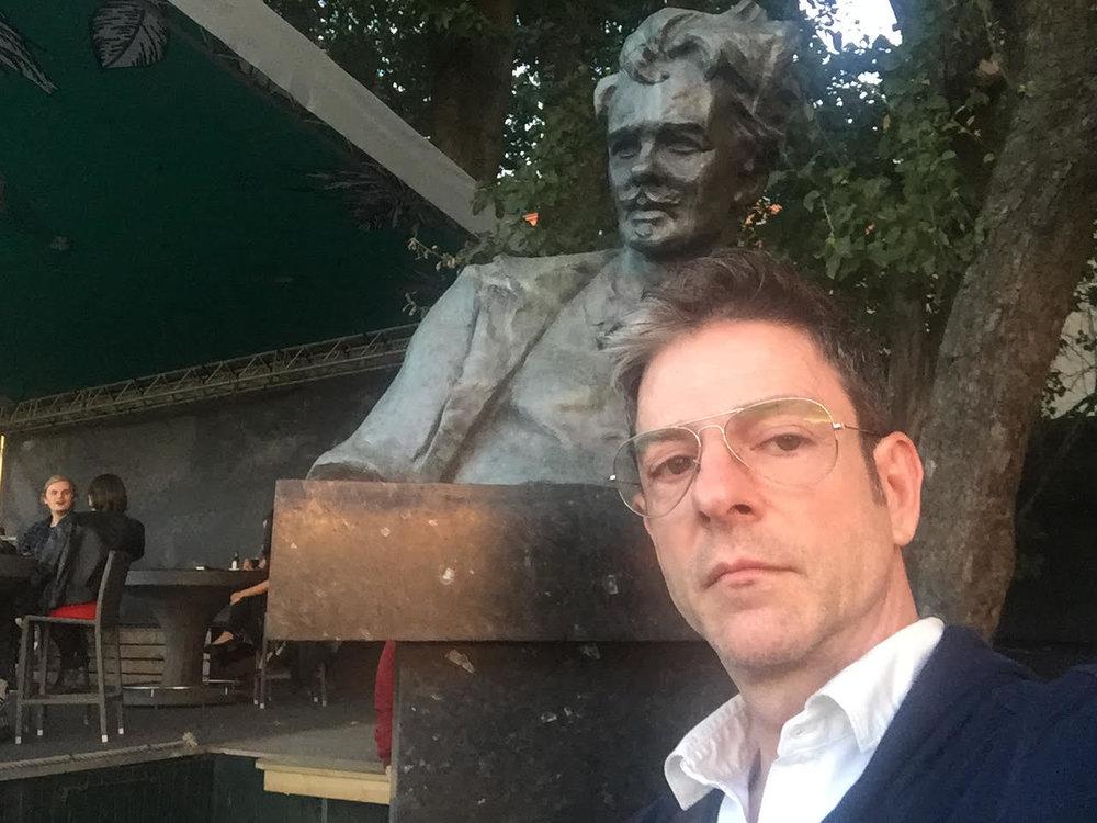 """Kevin Jones and August Strindberg, dramatic legends."""