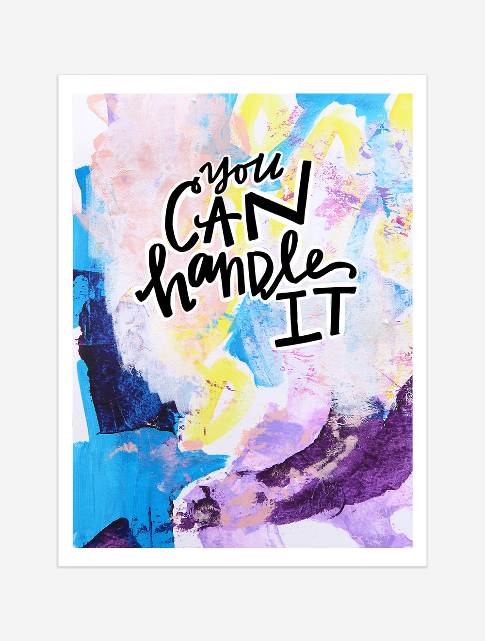 A reminder that you are stronger than you know. $25 giclee print available at the Made Vibrant Art Shop.