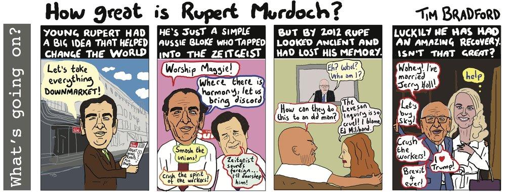 How great is Rupert Murdoch? 06/01/17