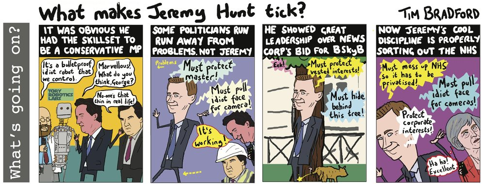 What makes Jeremy Hunt tick? - 13/01/17