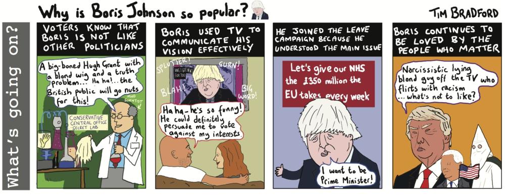 Why is Boris Johnson so popular? - 09/12/16