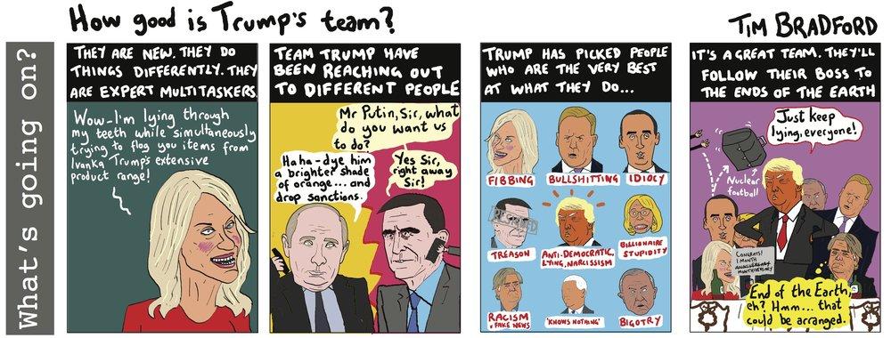 How good is Trump's team? - 19/02/17