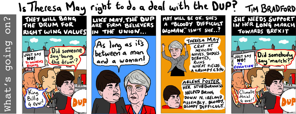 Copy of Is Theresa May right to do a deal with the DUP? - 16/06/17