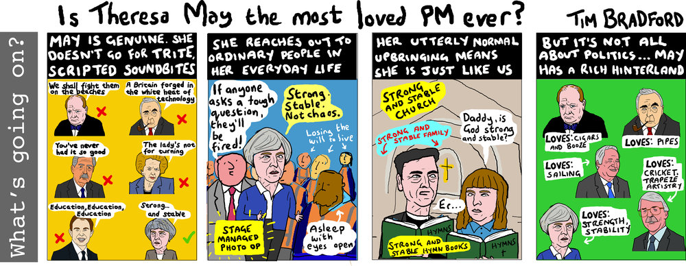 Is Theresa May the most loved PM ever? - 18/05/17