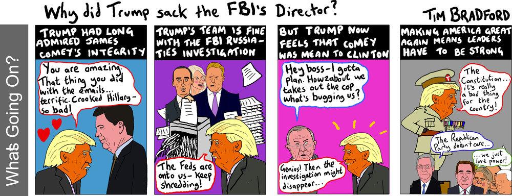 Why did Trump sack the FBI Director? - 12/05/17