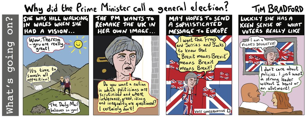 Why did the Prime Minister call a general election? - 29/04/17