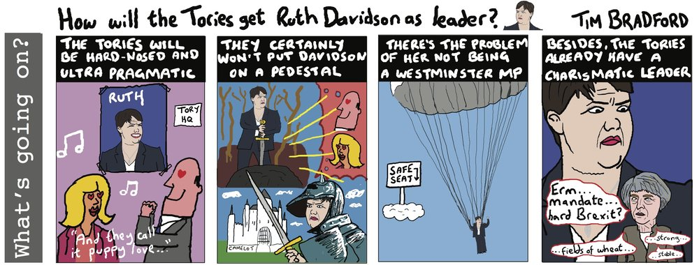 How will the Tories get Ruth Davidson as leader? - 24/06/17