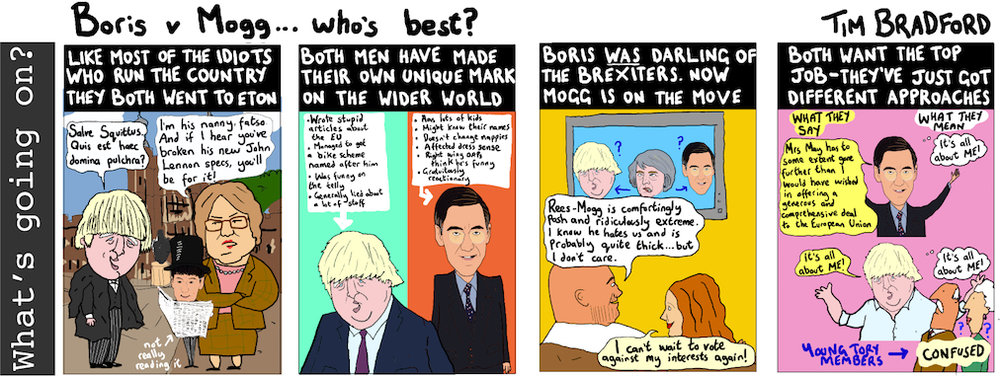 Who's best... Boris or Mogg? - 10/10/17