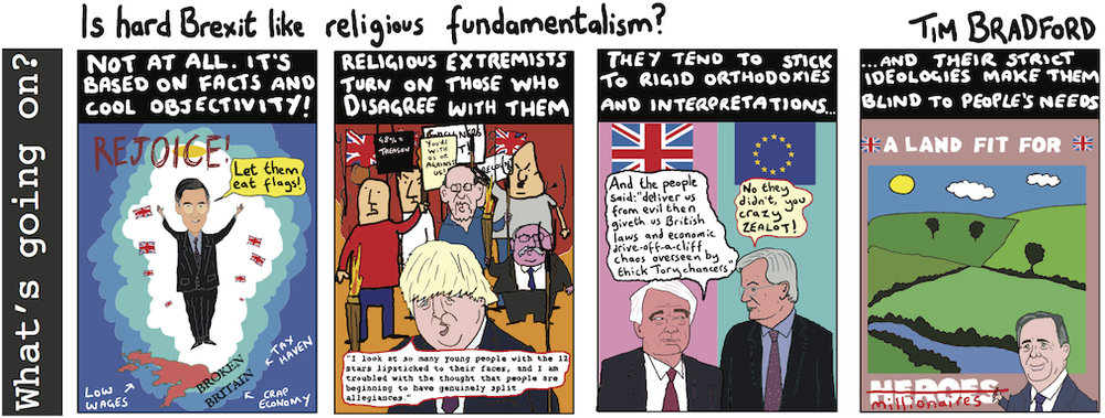 Is hard Brexit like religious fundamentalism? - 19/09/17