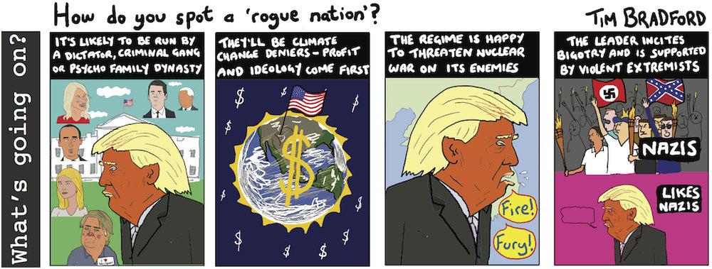 How do you spot a 'rogue nation' - 15/08/17