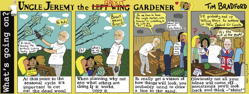 Uncle Jeremy the Brexit gardener - 25/07/17
