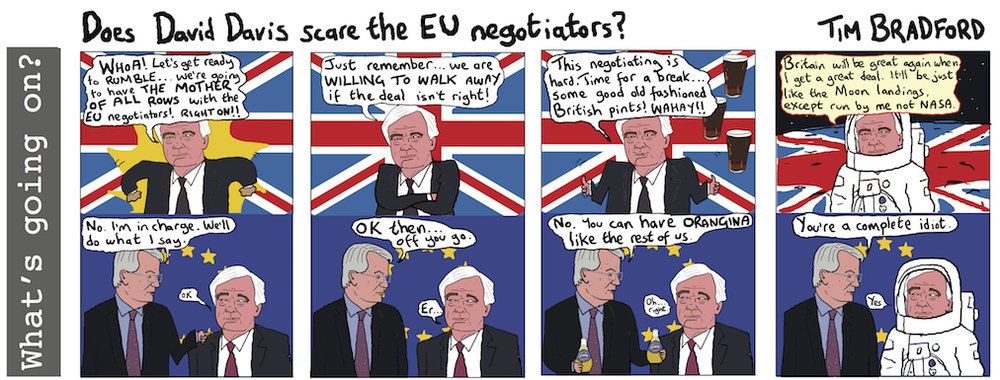 Does David Davis scare the EU negotiators? - 05/07/17