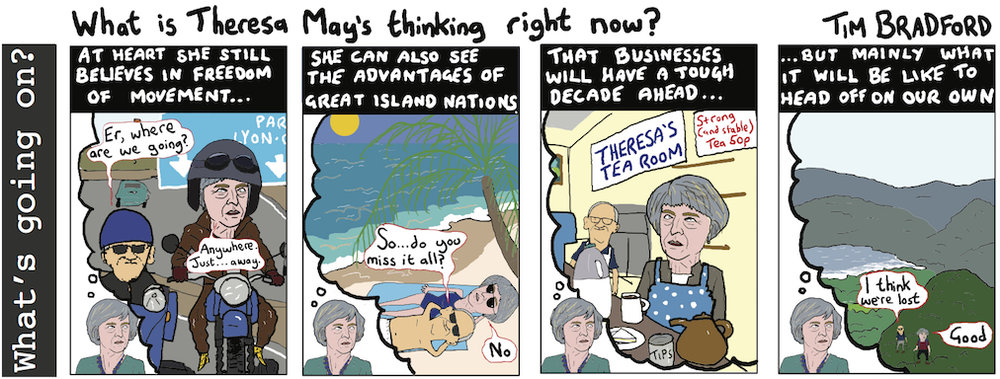 What is Theresa May's thinking right now? - 24/10/17