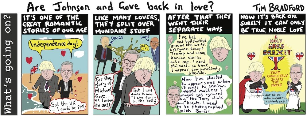 Copy of Are Johnson and Gove back in love? - 14/11/17