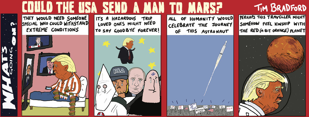 Could the USA send a man to Mars? 13/02/18