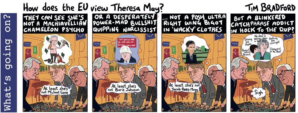Hoe does the EU view Theresa May? - 19/09/18