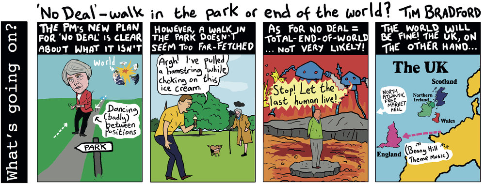 'No Deal': a walk in the park or the end of the world? - 28/08/18